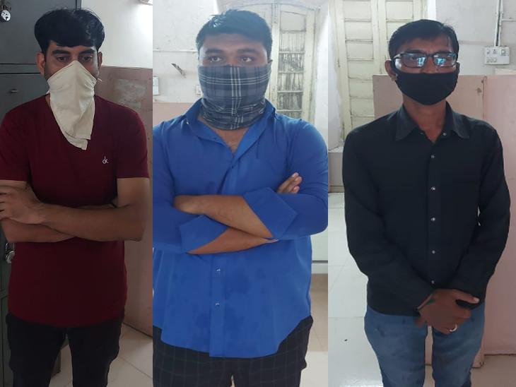 રાજકોટમાં 12 હજારમાં ગર્ભ પરીક્ષણ અને 20 હજારમાં ગર્ભપાત કરાવતા 3 ત્રણ શખ્સો ઝડપાયા, પોલીસે ડમી ગ્રાહક મોકલી પર્દાફાશ કર્યો|રાજકોટ,Rajkot - Divya Bhaskar