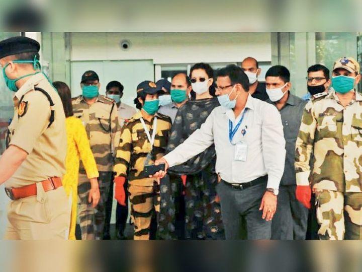 મહારાષ્ટ્ર સરકાર સાથેના વિવાદની વચ્ચે કેન્દ્રે કંગનાને Y સિક્યોરિટી આપી છે. - Divya Bhaskar