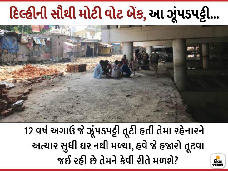 રહેવાસીઓ કહે છે- લોકો રાત્રે શરાબ પીને પુલ પર છોકરીઓને અશ્લિલ ઈશારા કરે છે, અમારા ઝૂંપડા પર પેશાબ કરે છે|ઈન્ડિયા,National - Divya Bhaskar