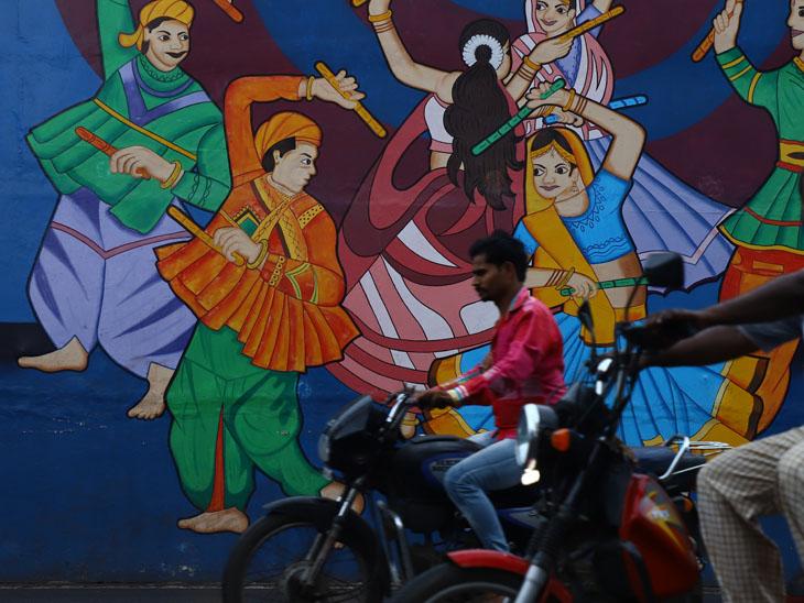 થનગનાટ માત્ર ચિત્ર પુરતો સીમિત - Divya Bhaskar