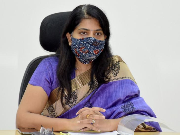 વડોદરા જિલ્લા કલેક્ટર શાલિની અગ્રવાલ - Divya Bhaskar