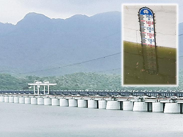 નર્મદા ડેમની જળસપાટી 137.98 મીટરે સ્થિર. - Divya Bhaskar