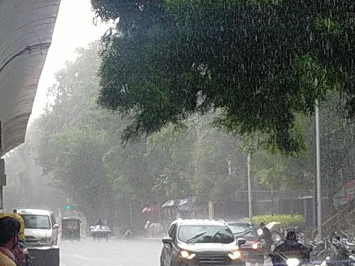 વાડજ, બાપુનગર, સરસપુર, ઇન્કમટેક્ષ, માધુપુરા સહિતના વિસ્તારોમાં વરસાદ પડ્યો - Divya Bhaskar