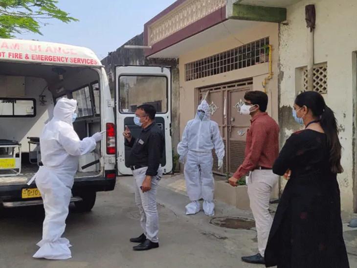 રાજકોટમાં કોરોના છ મહિનાનો થયો, કુલ 7338 કેસ: શુક્રવારે નવા 144 પોઝિટિવ કેસ આવ્યાં|રાજકોટ,Rajkot - Divya Bhaskar