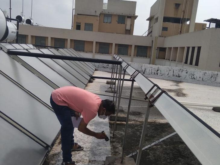 આરોગ્ય કેન્દ્રો હોસ્પિટલોમાં મચ્છરોના પોરા નાશની કામગીરી કરી હતી. - Divya Bhaskar