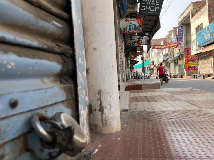 પંજાબના માનસામાં ખેડૂત આંદોલનની અસર જોવા મળી હતી. શહેરમાં મોટા ભાગની દુકાનો બંધ હતી.