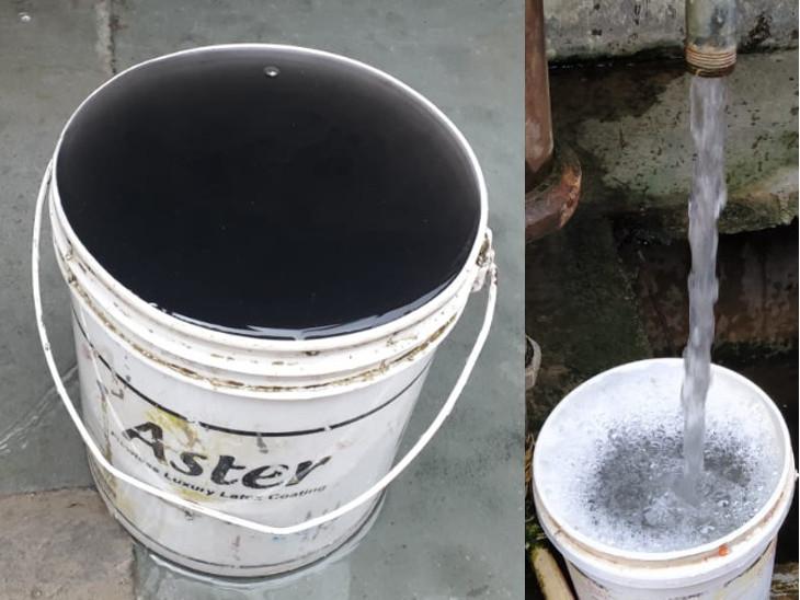 પૂર્વ વિસ્તારમાં દુષિત પાણીની સમસ્યા - Divya Bhaskar