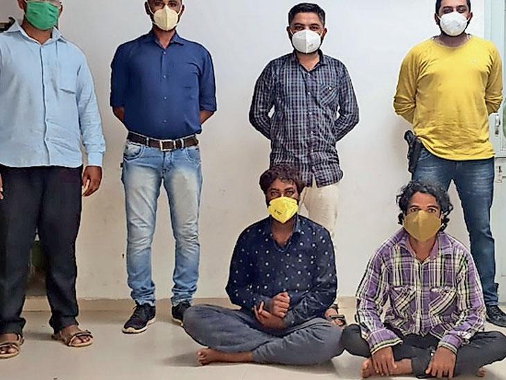 ગેંગના તમામ સભ્યો પોલીસ સંકજામાં - Divya Bhaskar