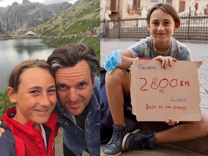 દાદીને મળવા માટે 10 વર્ષનું બાળક પિતા સાથે 2,800 કિ.મી. ચાલીને પહોંચ્યું, બન્નેએ 93 દિવસમાં 4 દેશ પાર કર્યા|વર્લ્ડ,International - Divya Bhaskar