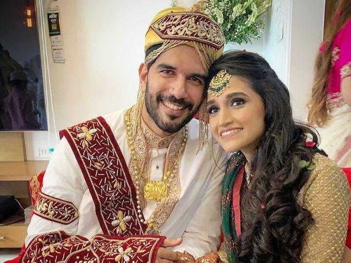 'બેપનાહ' એક્ટર તાહેર શબ્બીરે ગર્લફ્રેન્ડ અક્ષિતા ગાંધી સાથે લગ્ન કર્યાં, સિક્રેટ વેડિંગ સેરેમનીના સુંદર ફોટોઝ સામે આવ્યા|ટીવી,TV - Divya Bhaskar