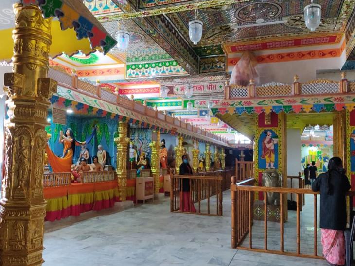 કૃષ્ણનગરી બેટ દ્વારકામાં 'સોનાની દ્વારકા' મ્યુઝિયમને આજથી ખુલ્લું મૂકાયું, ભગવાન કૃષ્ણની બાળલીલાથી લઈ અંત સુધીનાં સ્મરણોની ઝાંખી|જામનગર,Jamnagar - Divya Bhaskar