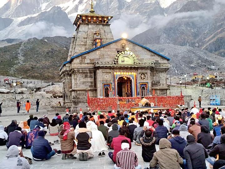 ચારધામ મંદિર હવે દેશભરના શ્રદ્ધાળુ માટે ખૂલી ગયા , ભગવાનથી ડિસ્ટન્સિંગ ઘટ્યું પણ શ્રદ્ધાળુ ઉમટ્યા ઈન્ડિયા,National - Divya Bhaskar