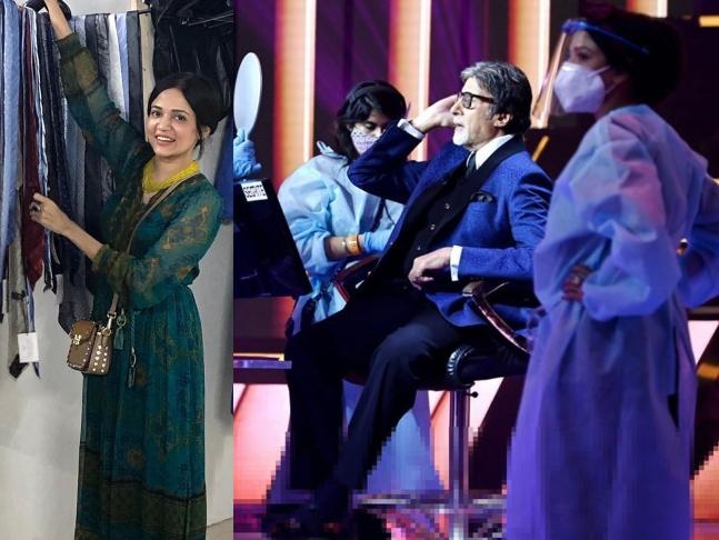 બિગ બીની સ્ટાઈલિસ્ટ અને ડિઝાઈનર પ્રિયા પાટિલે કહ્યું,'મહામારીમાં કોસ્ચ્યુમ માટે વિદેશથી ફેબ્રિક મગાવવાને બદલે લોકલ ફેબ્રિક વાપર્યું છે' ટીવી,TV - Divya Bhaskar