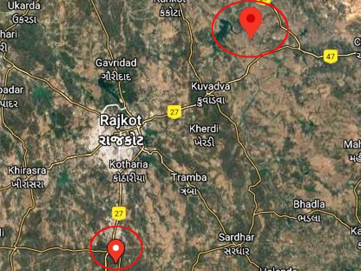 છ કલાકમાં રાજકોટની બે દિશામાં ભૂકંપ: પાણીના દબાણથી નબળા ભૂ ભાગમાંથી પેટાળની ઊર્જા બહાર આવતા હલચલ|રાજકોટ,Rajkot - Divya Bhaskar