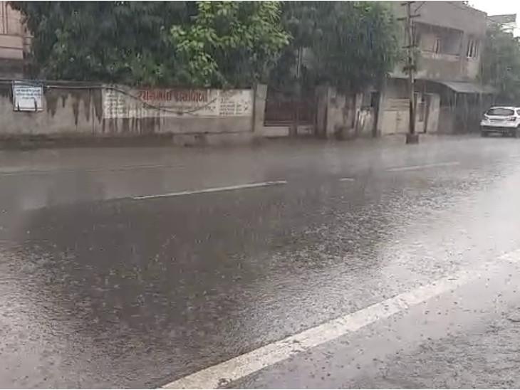 ભાવનગરના ગ્રામ્ય વિસ્તારોમાં ધોધમાર વરસાદ