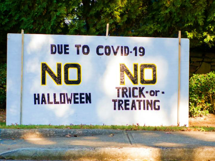 The second wave of transition in the United States has seen the movement of people banned in many places.  Programs related to Halloween are also currently being avoided.