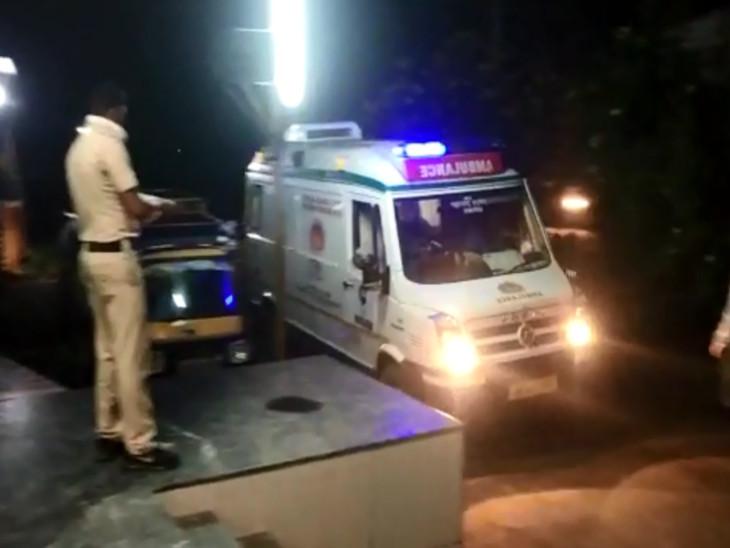 નવાપુર નજીકના સ્થળોની 108 બોલાવી ઈજાગ્રસ્તોને હોસ્પિટલ ખસેડાયા.