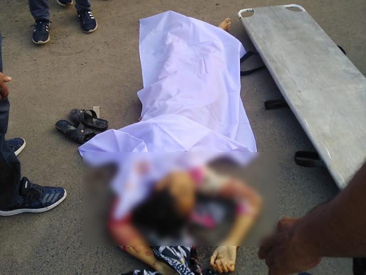 પોલીસે નાઝીયાનો મૃતદેહ પીએમ માટે હોસ્પિટલ ખસેડ્યો