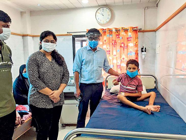 ઇન્ફ્લામેટરીનો ટોસિલીઝુમેબ દ્વારા સારવારનો પ્રથમ કિસ્સો|ભાવનગર,Bhavnagar - Divya Bhaskar