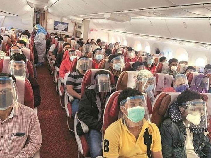 10 સપ્ટેમ્બરે વંદે ભારત મિશન અંતર્ગત ચીનથી લગભગ 200 ભારતીય નાગરિકોને દેશમાં પરત લાવવામાં આવ્યા હતા. (ફાઈલ ફોટો) - Divya Bhaskar