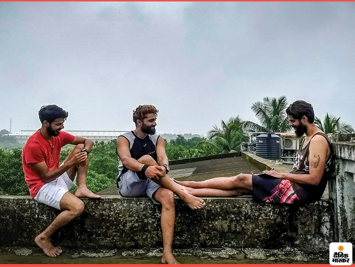 Oshank, Harshit and Mohit started TrekMonk together in 2016