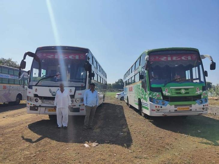 બહાર ગામથી મતદારોને લાવવા ધારીમાં કોંગ્રેસ અને ભાજપે 100 ખાનગી બસની વ્યવસ્થા કરી