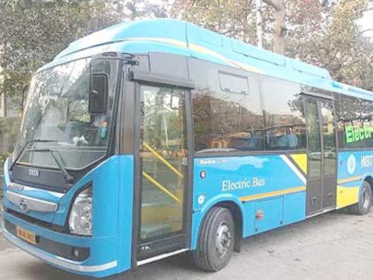 રાજકોટમાં 150 ઈલેક્ટ્રિક બસ મંજૂર, તમામ સિટી અને BRTS બસ ઈલેક્ટ્રિક બસમાં ફરવાશે, જાન્યુઆરીમાં શહેરના માર્ગો પર દોડવા લાગશે|રાજકોટ,Rajkot - Divya Bhaskar