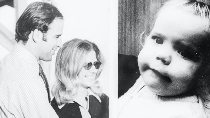 बिडेन की पहली पत्नी और बेटी 1972 में एक कार दुर्घटना में मारे गए थे।