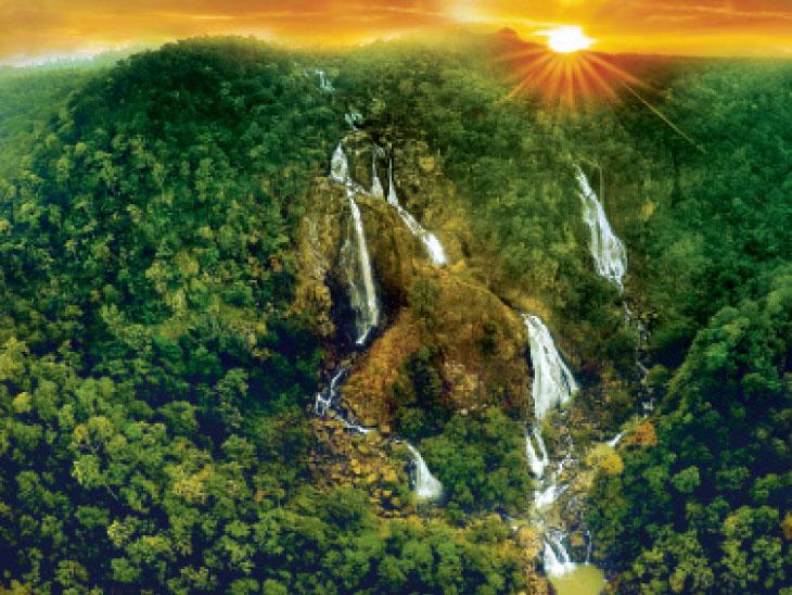 ઝારખંડ: પહેલીવાર નક્સલી ગઢના સૌથી ઊંચા ઝરણાની તસવીર|ઈન્ડિયા,National - Divya Bhaskar