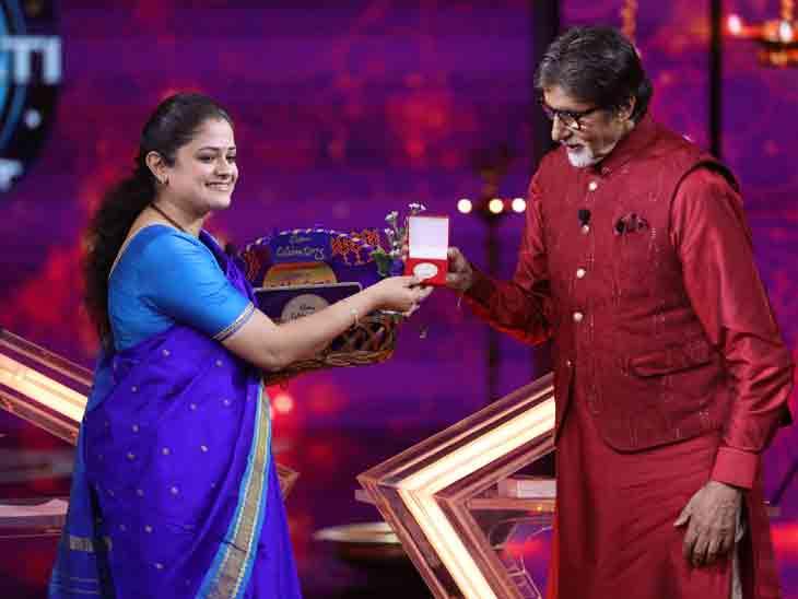IPS મોહિતા શર્મા શોની બીજી કરોડપતિ બની, અમિતાભ બચ્ચન પણ ટ્વિટર પર ફોલો કરે છે|ટીવી,TV - Divya Bhaskar
