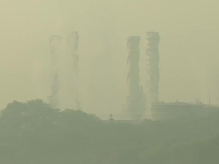 દિલ્હીમાં ધુમ્મસ