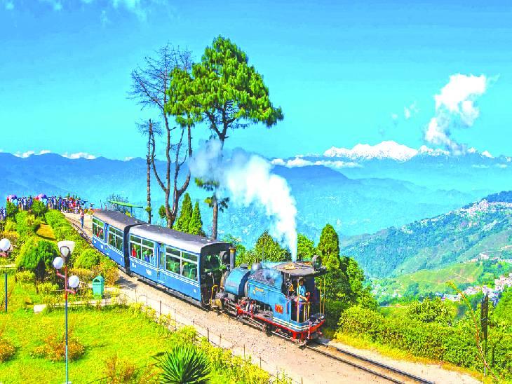 આ રેલગાડી અને આ રસ્તો અહા જિંદગી,Aha Zindagi - Divya Bhaskar