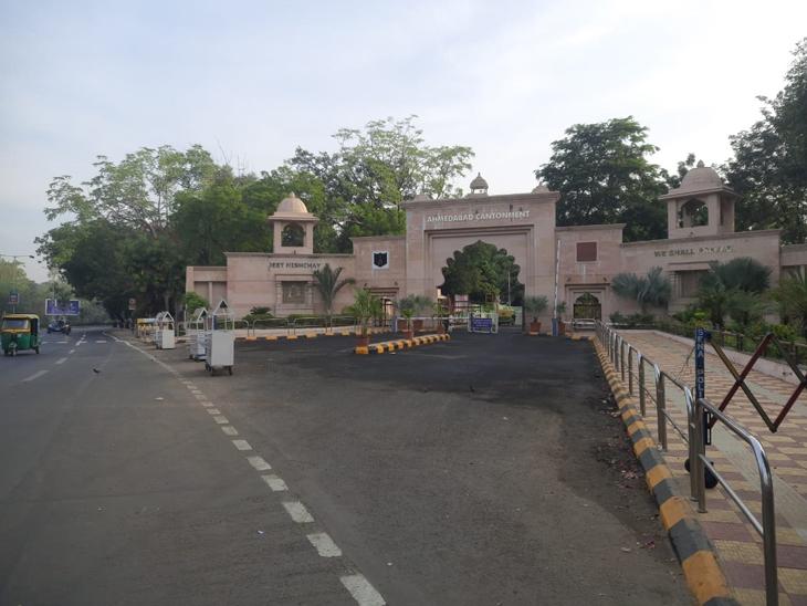 કેમ્પ હનુમાન મંદિરનું સ્થળાંતર કરવા માટે ટ્રસ્ટી-કેન્ટોનમેન્ટ બોર્ડની મીટિંગમાં ચર્ચા|અમદાવાદ,Ahmedabad - Divya Bhaskar