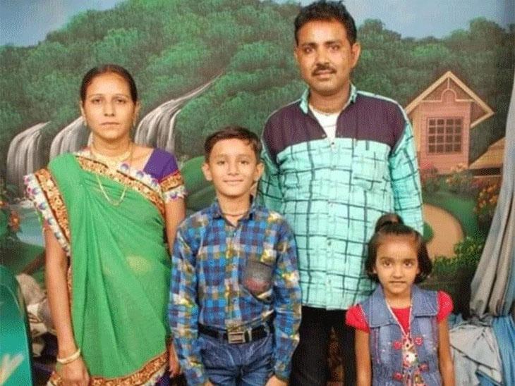 કોરડા-વારાહીના રમેશભાઈ, પત્ની અને બાળકો