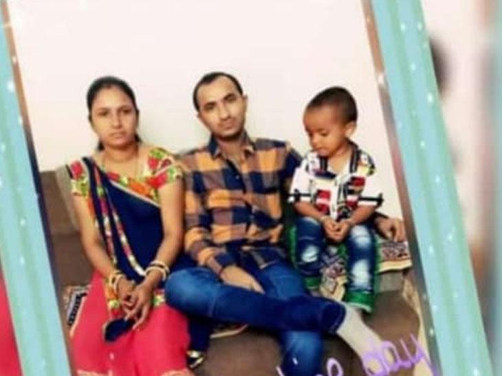 નાનાપુરા-રાધનપુરના હરેશભાઇ,પત્ની અને પુત્ર