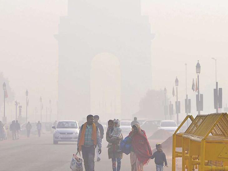 દિલ્હીમાં 14 વર્ષમાં નવેમ્બરની સૌથી ઠંડી સવાર, તાપમાન ગગડીને 7.5 ડિગ્રી સેલ્સિયસ થયું ઈન્ડિયા,National - Divya Bhaskar