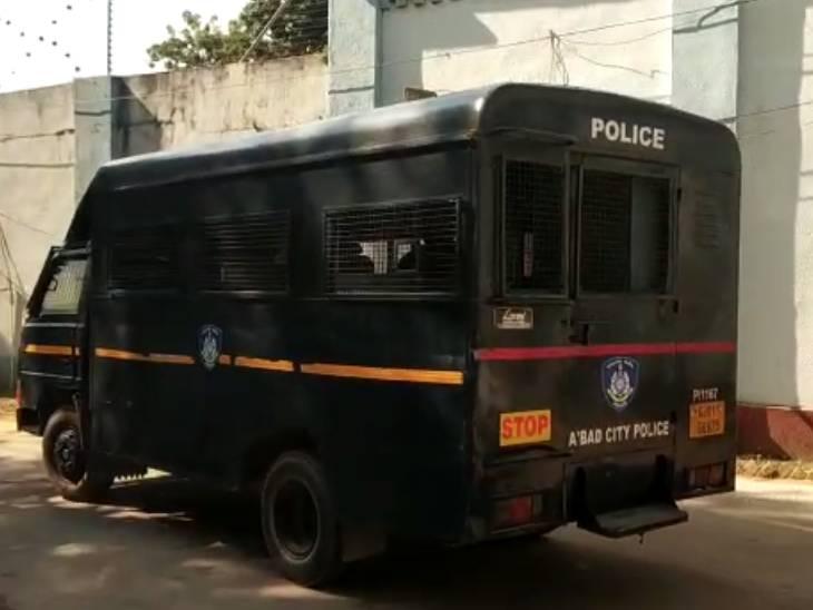 સાબરમતિ સેન્ટ્રલ જેલમાંથી આરોપીઓને FSLમાં લઈ જવામાં આવ્યા
