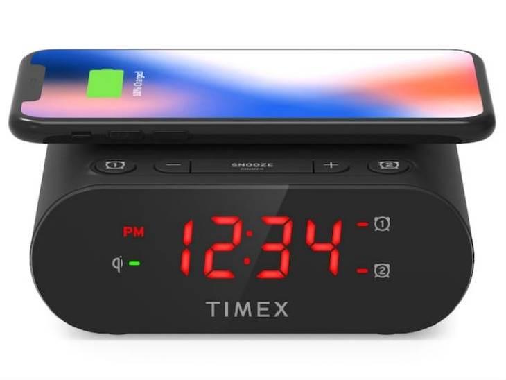 વાયરલેસ ચાર્જિંગ સપોર્ટ સાથે આવશે ટાઈમેક્સની અલાર્મ વોચ, તેની ઉપર ફોન રાખતાં જ ચાર્જિંગ શરૂ થશે|ગેજેટ,Gadgets - Divya Bhaskar