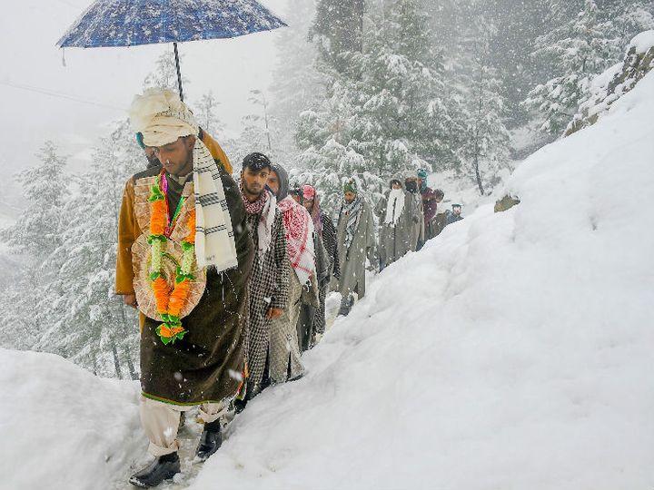 રાજસ્થાનના 5 જિલ્લામાં કાલથી શીતળ લહેરનું એલર્ટ, હિમાચલ પ્રદેશમાં સતત ચોથા દિવસે બરફનો વરસાદ|ઈન્ડિયા,National - Divya Bhaskar