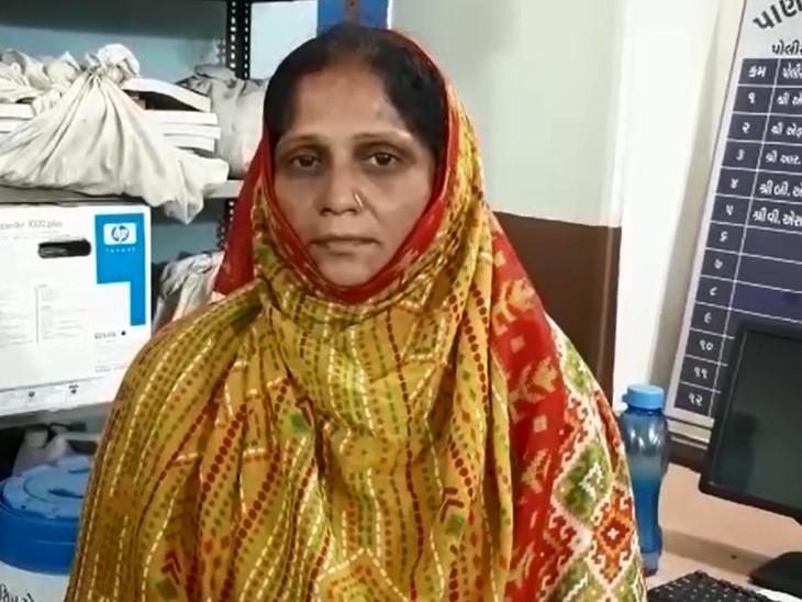 નવજાત બાળકીનું અપહરણ કરનાર મહિલા - Divya Bhaskar