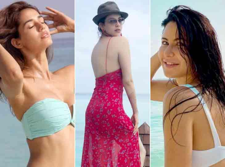 એક ડઝનથી પણ વધુ બોલિવૂડ અભિનેત્રીઓના માલદિવ્સમાં ધામા, ગ્લેમરસ તસવીરોથી માહોલ રંગીન|બોલિવૂડ,Bollywood - Divya Bhaskar