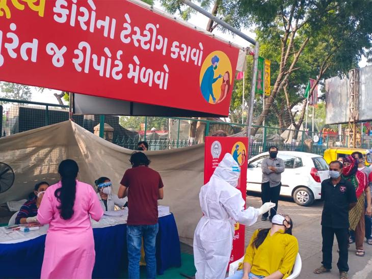 ગુજરાતમાં કોરોના માતેલા સાંઢની જેમ વિફર્યો, 24 કલાકમાં રેકોર્ડબ્રેક 1560 કેસ નોંધાયા, મુખ્યમંત્રી આવાસનો રસોઈયો પણ પોઝિટિવ આવ્યો|અમદાવાદ,Ahmedabad - Divya Bhaskar