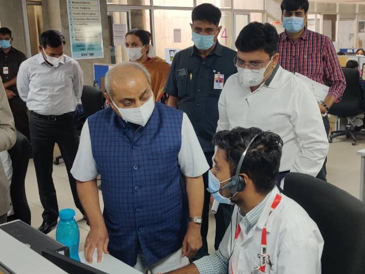કોરોનાગ્રસ્ત દર્દીઓ 108નો સીધો સંપર્ક કરીને પ્રાથમિક તપાસ કરાવી શકશે - Divya Bhaskar