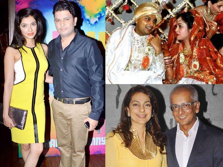 દિવ્યા ખોસલાએ માત્ર 18 વર્ષની ઉંમરે ભૂષણ કુમાર સાથે લગ્ન કર્યાં હતા, ટીનાએ અનિલ અંબાણી સાથે લગ્ન કરીને બોલિવૂડ છોડ્યું હતું|બોલિવૂડ,Bollywood - Divya Bhaskar