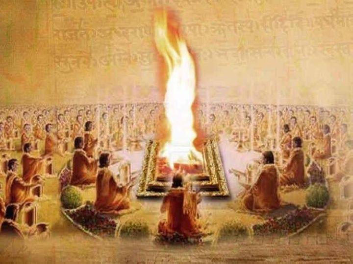 યજ્ઞમાં આહુતિ કેમ આપવામાં આવે છે? યજ્ઞની રચના કોણે કરી? યજ્ઞ અને હવનમાં શું અંતર છે? યજ્ઞ સાથે જોડાયેલાં સવાલના જવાબ|ધર્મ,Dharm - Divya Bhaskar