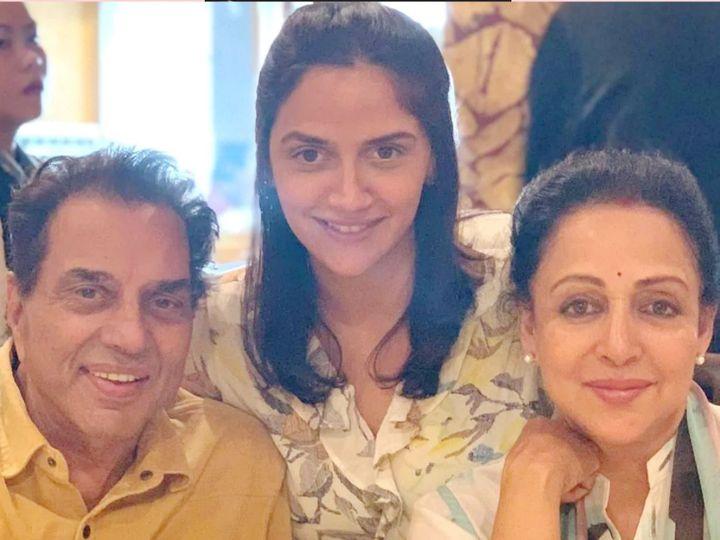 ધર્મેન્દ્ર-હેમામાલિની ફરી નાના-નાની બન્યાં, નાની દીકરી આહનાએ ટ્વિન્સ દીકરીઓને જન્મ આપ્યો|બોલિવૂડ,Bollywood - Divya Bhaskar