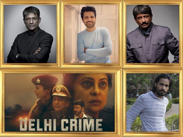 'દિલ્હી ક્રાઈમ'ની સ્ટાર કાસ્ટ આદિલ હુસૈન, સજંય બિશ્નોઈ, રાજેશ તૈલંગ અને મૃદુલ શર્મા - Divya Bhaskar