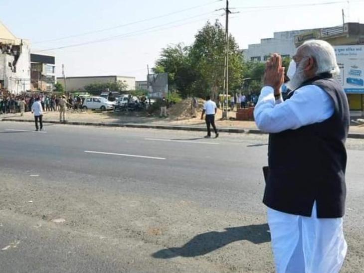 તો મોદીએ લોકોનું અભિવાનદ કર્યું હતું - Divya Bhaskar