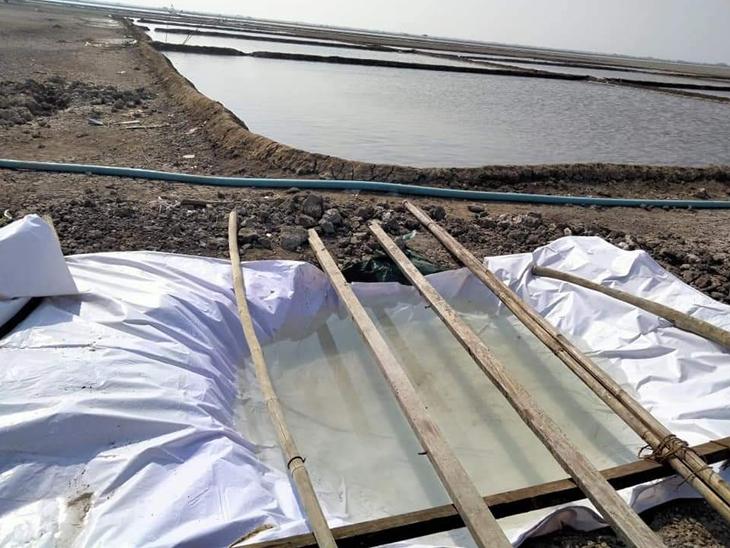 વધુ પાણી ક્યાં સ્ટોર કરવું એ અગરિયા સમુદાય માટે યક્ષ પ્રશ્ન બની જાય છે