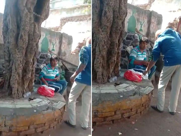 પોલીસે શાહીબાગમાં દેશી દારૂ સાથે એક વ્યક્તિને પકડી ગુનો નોંધી દીધો હતો - Divya Bhaskar